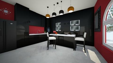 kitchen II - Glamour - Kitchen - by Claudia Servin leyva