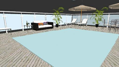 beach patio 2 - Modern - by designer2001