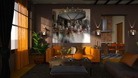 Orange Carpet - by ZsuzsannaCs