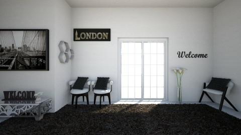 black - Modern - Office - by haya okdeh