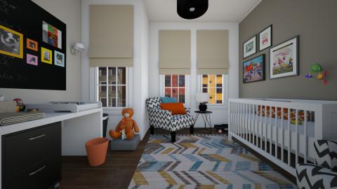 Eclectic - Eclectic - Kids room - by Tuija