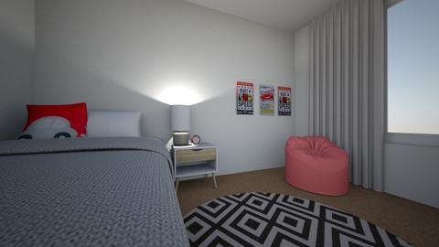 dantes bedroom - Bedroom - by gabriellemae19