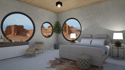 Mars dreaming - Bedroom - by rebsrebsmmg