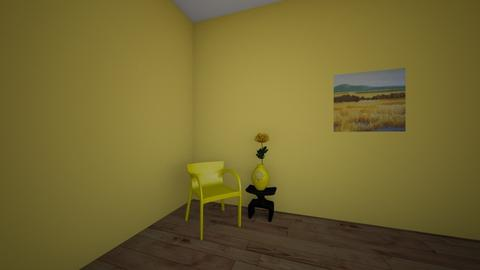 Yellow Bathroom - Retro - Bathroom - by Skalicky2