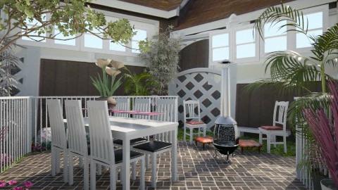 patio - Vintage - Garden - by Anass Bouallaga