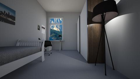 BBB - Masculine - Bedroom - by Twerka