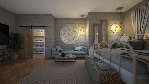 studio apartment - by boho_dreamer