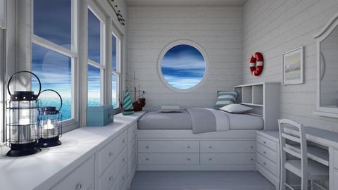 Captains Quarters - Bedroom - by lauren_murphy