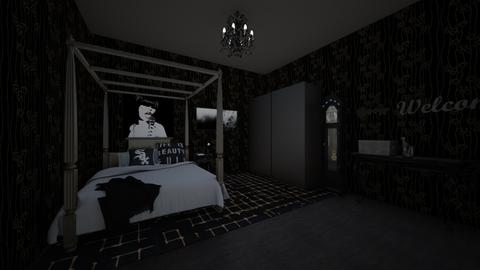 Darkened Bedroom - Bedroom - by bvbstyle08
