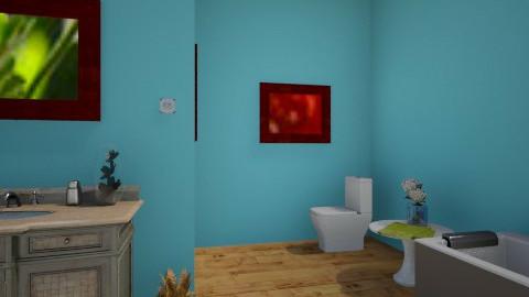 Sarah Rooms _bathroom_ - Glamour - Bathroom - by Sarah Bussing