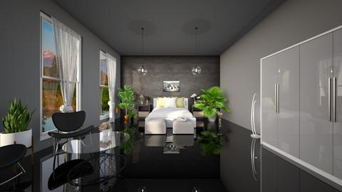 Modern test bedroom - Bedroom - by LunaBradley