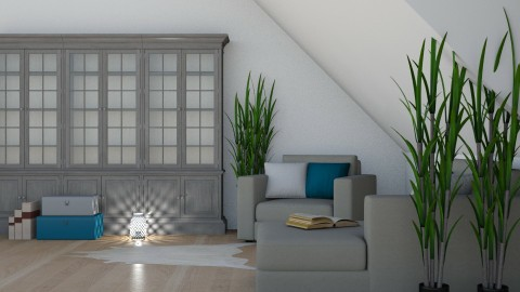 Attic Space - Living room - by millerfam
