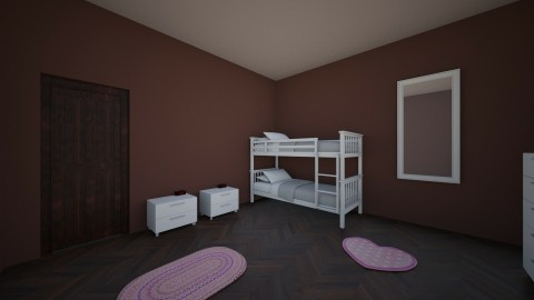 rustic girls room - Rustic - Kids room - by shadowscythe