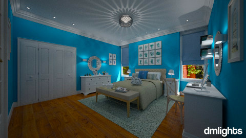 Brooklyn Heights - Modern - Bedroom - by Claudia Correia