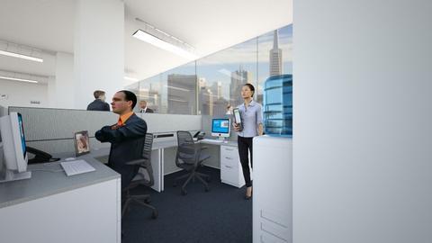 The Newsroom - Office - by SammyJPili