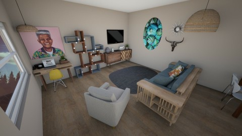 Retro Living Room - Retro - Living room - by kennyhollis99