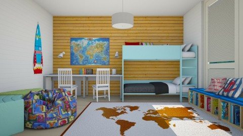 Fatboy - Kids room - by Liu Kovac