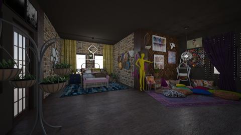 Bohososo - Bedroom - by Airikah