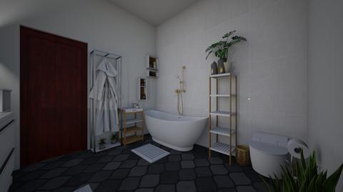 guest bathroom - Bathroom - by LetiG