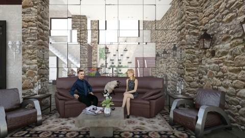 Casa Bela - Glamour - Living room - by Mariesse Paim