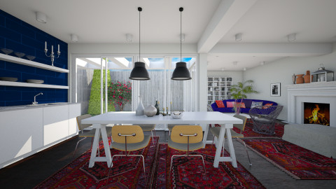One Room Living - Eclectic - Kitchen - by 3rdfloor