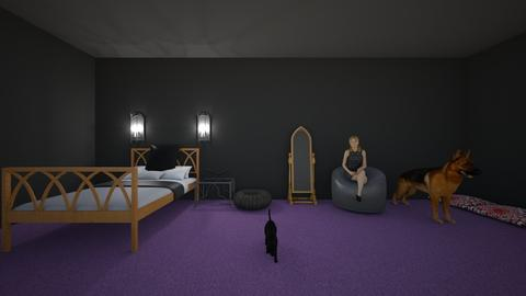 Gothic bedroom - Bedroom - by Natasha Dunn
