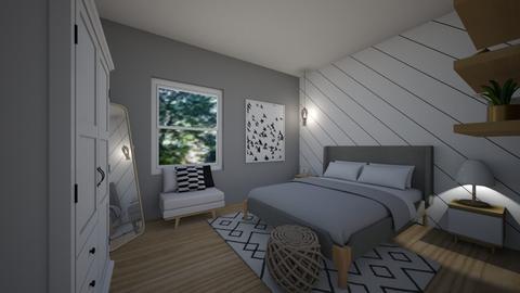 small apartment bedroom - Bedroom - by erladisgudmunds
