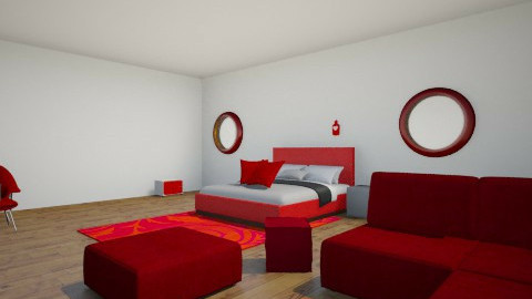 red - Bedroom - by Raouf Sassine