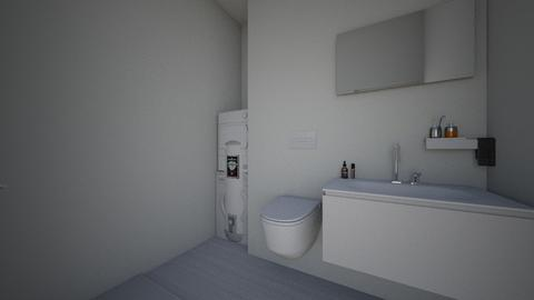 bathroom - Minimal - Bathroom - by tonond
