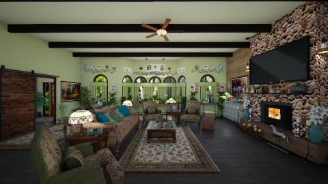 My Livingroom - Country - Living room - by  krc60