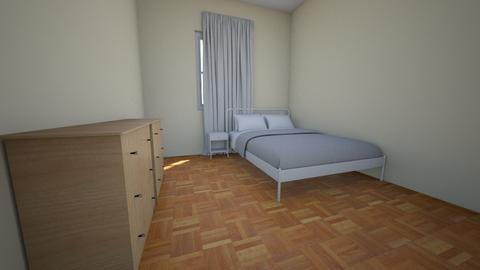 Bedroom Wood Queen Bed - Bedroom - by arifbmb