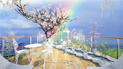 Rooftop garden the world - Garden - by Primeve