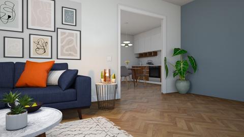 room tel aviv - Modern - Living room - by ne1b