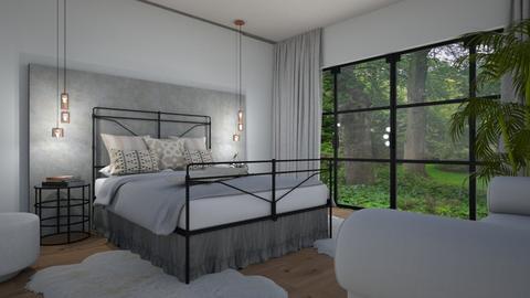 Erilainen makuuhuone - Bedroom - by Tuija