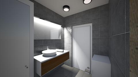 Lazienka 2 - Bathroom - by KatarzynaLaszczyk