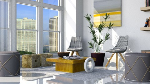 Highrise - Eclectic - Living room - by Musicman