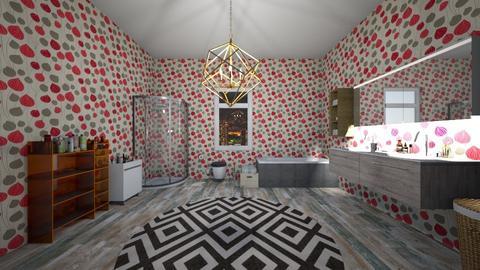 Cute Bathroom - Glamour - Bathroom - by deleted_1582859449_Applestyler