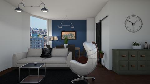 Men room - Living room - by Carolina Soriani