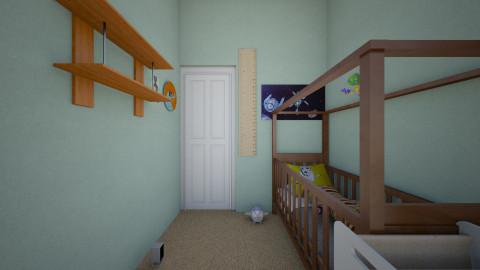 Nursery - Kids room - by midnightmystery09