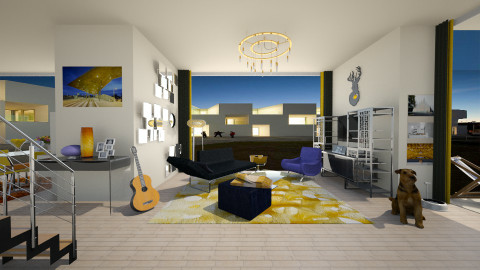 cool living - Living room - by bright side of life