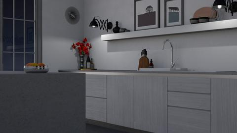 Minimal Kitchen - Minimal - Kitchen - by HenkRetro1960