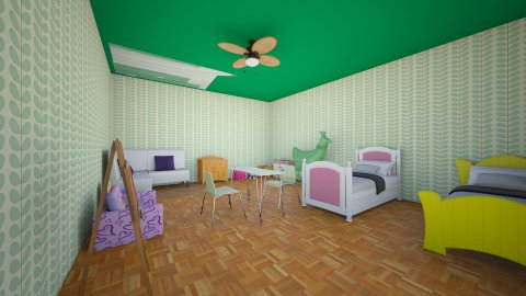 Kids Room - Eclectic - Kids room - by orangeblood03