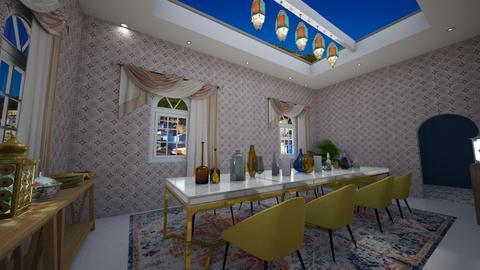 Ornate Morocco - Dining room - by HeidiNel