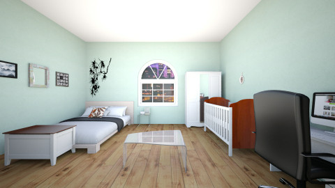 Parents and baby room - Bedroom - by Fandom Girl Santana