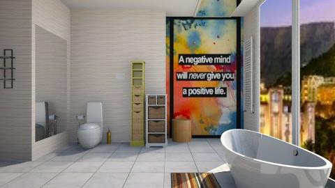 positive neuclean - Modern - Bathroom - by Nhezi