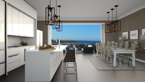 Open Kitchen - Modern - Kitchen - by Ryan_22_