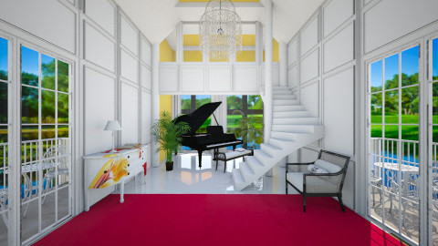 Steinway - Eclectic - by Laurika