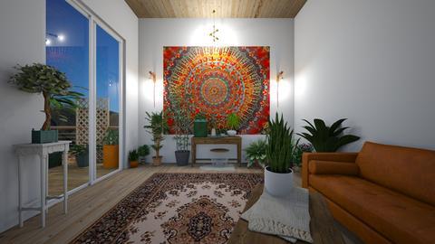 boho plant room - by joetee