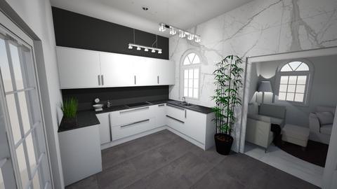 Kitchen 1 - Kitchen - by brontevankesteren