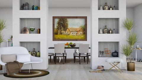 Home in the Country - Modern - Living room - by millerfam